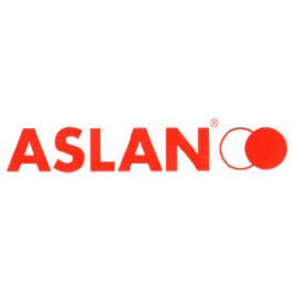 ASLAN AF16 Hvid folie med sort bagside