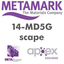 Metamark MD5 - 7 år blank / med klar klæb / med kanaler