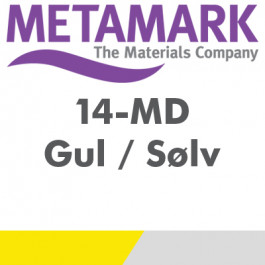 Metamark Gul / Sølv printmedie