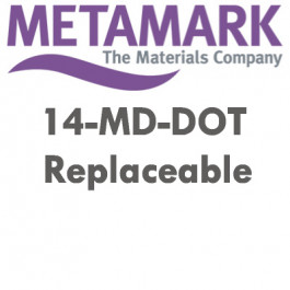 "Metamark MD DOT - 5 års hvid mat ""on-off"" printfolie"