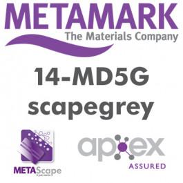Metamark MD5 - 7 år blank / med grå klæb / med kanaler