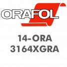 Oracal 3164XGRA 4års folie grå klæb og kanaler
