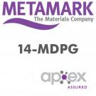 Metamark MDPG - 4 år blank / m klar klæb