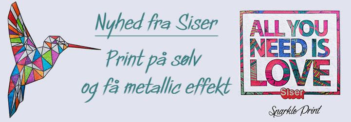 ColorPrint Sparkle Silver